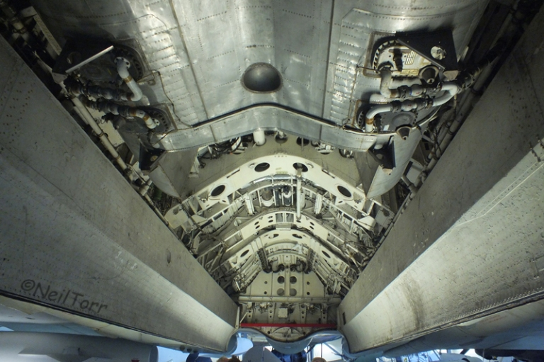 Bomb bay of XJ824 at Duxford IWM